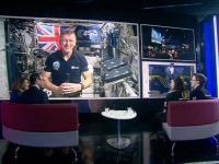 Sky News Tim Peake interview Sharon Marris
