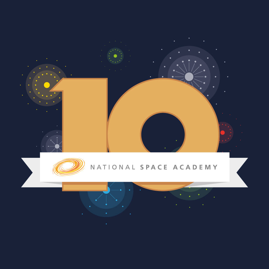 National Space Academy - we are 10!