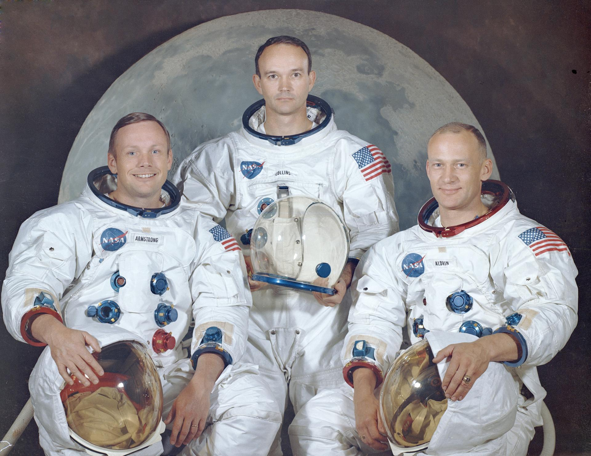 apollo 11 crew photo NASA